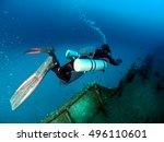 Sidemount Diver Exploring The...