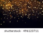 abstract festive background.... | Shutterstock . vector #496123711