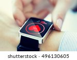 technology  health care and... | Shutterstock . vector #496130605