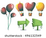 cartoon vector cute balloons...
