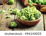 Green Romanesco Cauliflower In...