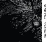 vector abstract earth relief...   Shutterstock .eps vector #496158955