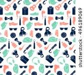 vector illustration pattern of... | Shutterstock .eps vector #496189069