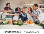 Fun Group Toasting Wine Glasse...