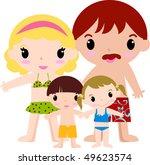 family isolated | Shutterstock .eps vector #49623574