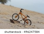 mini bicycle toy  | Shutterstock . vector #496247584