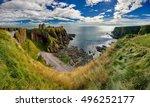 Medieval Fortress Dunnottar...
