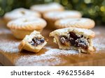 Closeup Of An Open Mince Pie O...