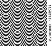 vector seamless texture. modern ... | Shutterstock .eps vector #496259791