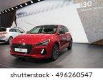paris  france   october 10 ... | Shutterstock . vector #496260547
