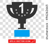 vector first prize eps vector... | Shutterstock .eps vector #496262665