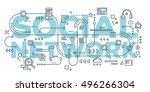 vector creative illustration of ... | Shutterstock .eps vector #496266304
