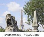 paris  france   aug 6  2016 ... | Shutterstock . vector #496272589