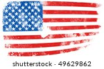 flag of united states | Shutterstock . vector #49629862
