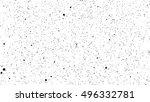 black dot design on white | Shutterstock .eps vector #496332781