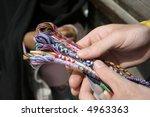 colourful cotton  local market... | Shutterstock . vector #4963363