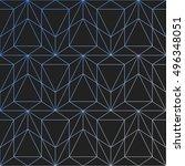 gradient background. vector... | Shutterstock .eps vector #496348051