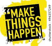motivation concept  ...   Shutterstock .eps vector #496357249