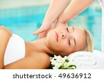 young woman in spa   Shutterstock . vector #49636912