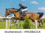 Horse Jumping Competitions Wit...