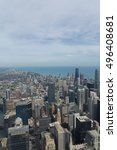 chicago  il   sep 15  2016 ... | Shutterstock . vector #496408681