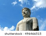 the idol statue for worship in... | Shutterstock . vector #496466515