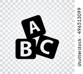 abc icon   Shutterstock .eps vector #496513099
