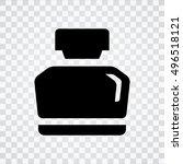 ink bottle | Shutterstock .eps vector #496518121