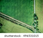 track and parallel railway in... | Shutterstock . vector #496531015