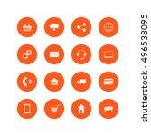omni channel icon design. multi ...
