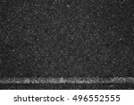 asphalt background texture with ... | Shutterstock . vector #496552555