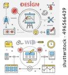 design and web development flat ...