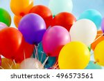 Colorful Birthday Balloons ...