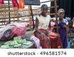 abidjan  ivory coast  africa.... | Shutterstock . vector #496581574