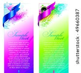 abstract colorful vector design ... | Shutterstock .eps vector #49660387