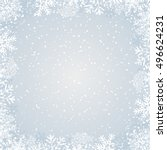 winter background | Shutterstock .eps vector #496624231