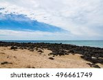 griffiths island with the rock... | Shutterstock . vector #496661749