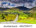 Road View To Mountains In...