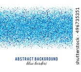 abstract blue vector background.... | Shutterstock .eps vector #496735351