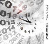 times | Shutterstock . vector #496737619