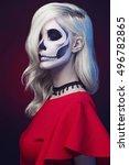 Halloween Make Up Skull...