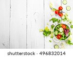 Salad Of Tomatoes And Cucumbers ...
