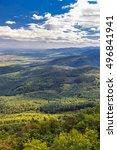 alsace region of north east... | Shutterstock . vector #496841941