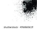 splatter vector texture | Shutterstock .eps vector #496860619