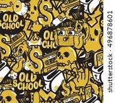 original youth seamless...   Shutterstock .eps vector #496878601