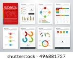 modern infographic vector... | Shutterstock .eps vector #496881727
