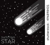 vector illustration set cartoon ... | Shutterstock .eps vector #496898431