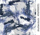 seamless pattern tie dye design.... | Shutterstock . vector #496900051