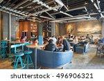 hong kong   october 25  2015 ... | Shutterstock . vector #496906321