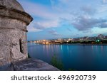 view of habana city at evening | Shutterstock . vector #496920739